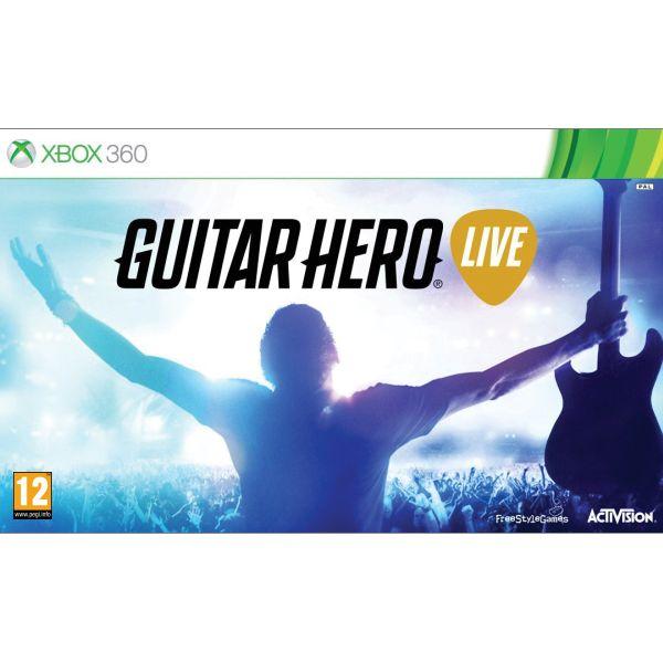 Guitar Hero Live + kytara XBOX 360