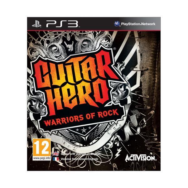 Guitar Hero: Warriors of Rock PS3