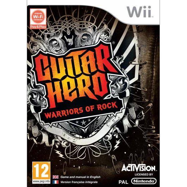 Guitar Hero: Warriors of Rock Wii