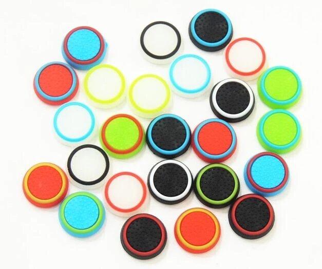 Gumové návleky na tlačítka pro gamepad v3, barevné kroužky