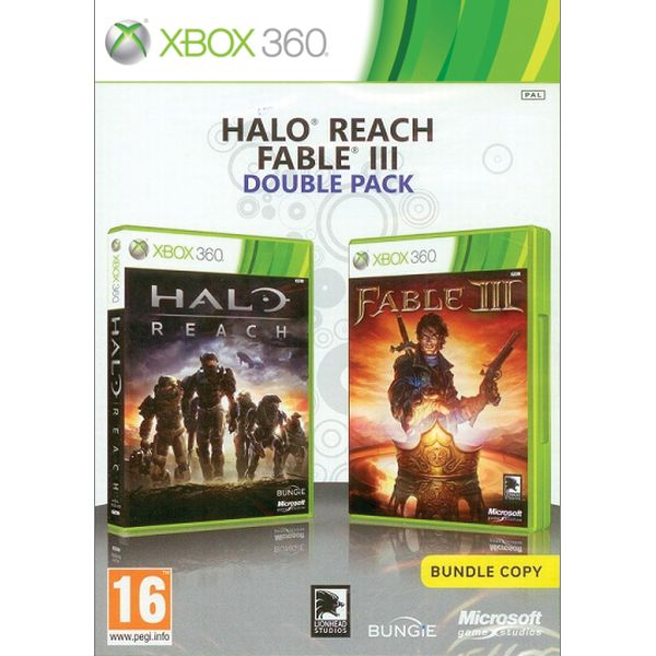 Halo: Reach + Fable 3 CZ (Double Pack) XBOX 360