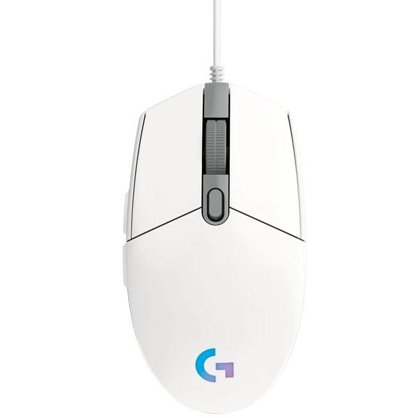 Herní myš Logitech G203 Lightsync, white