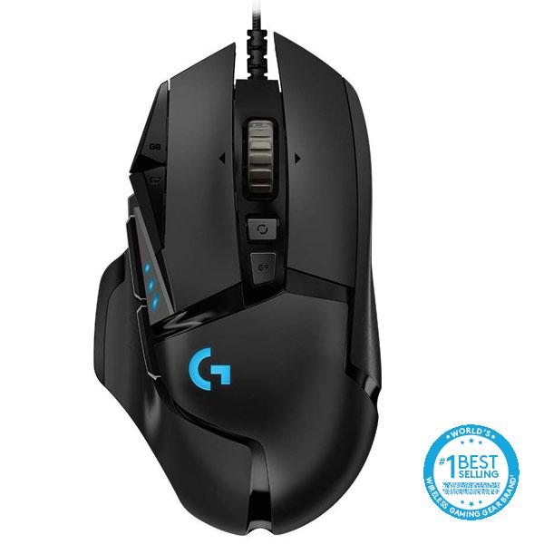 Herní myš Logitech G502 Hero High Performance Gaming Mouse