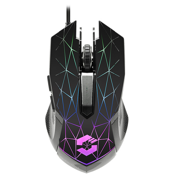 Herní myš Speedlink Reticos RGB Gaming Mouse, black