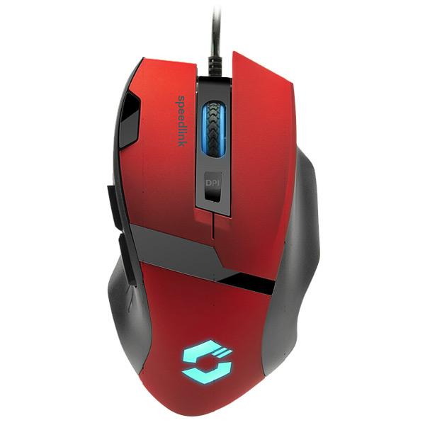 Herní myš Speedlink Vades Gaming Mouse, červená