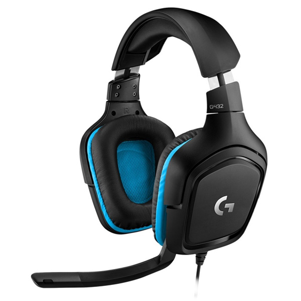 Herní sluchátka Logitech G432 7.1 Surround Sound Gaming Headset