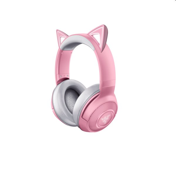 Herní sluchátka Razer Kraken BT Kitty Edition, růžové