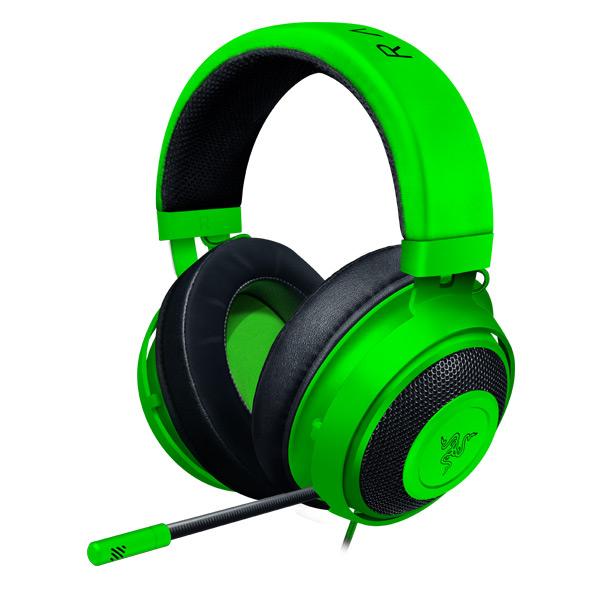 Herní sluchátka Razer Kraken, green (2019 Edition)