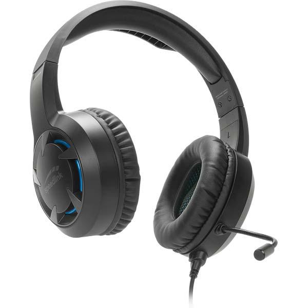 Herní sluchátka Speedlink Casado Gaming Headset pro PS4-černé