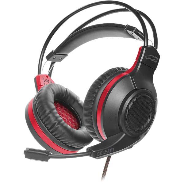 Herní sluchátka Speedlink Celsor Gaming Headset pro PS4, černé