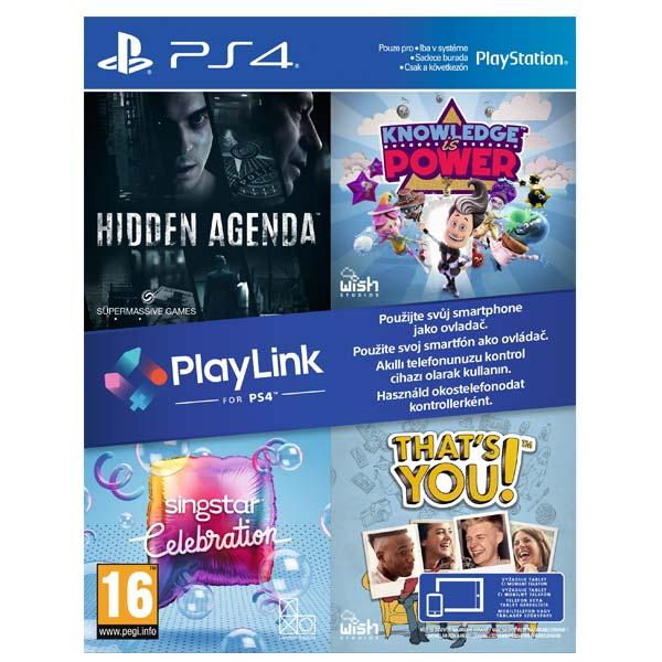 Hidden Agenda + Knowledge is Power + SingStar: Celebration + That 's You! CZ PS4