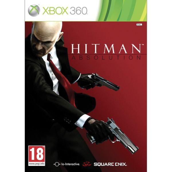 Hitman: Absolution-XBOX 360-BAZAR (použité zboží)