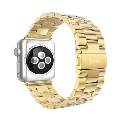 HOCO řemínek Premium Edition pro Apple Watch 42/44 mm-Gold