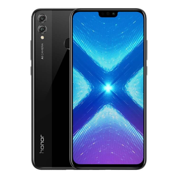 Honor 8X, 4/64GB, Dual SIM, Black-CZ distribuce