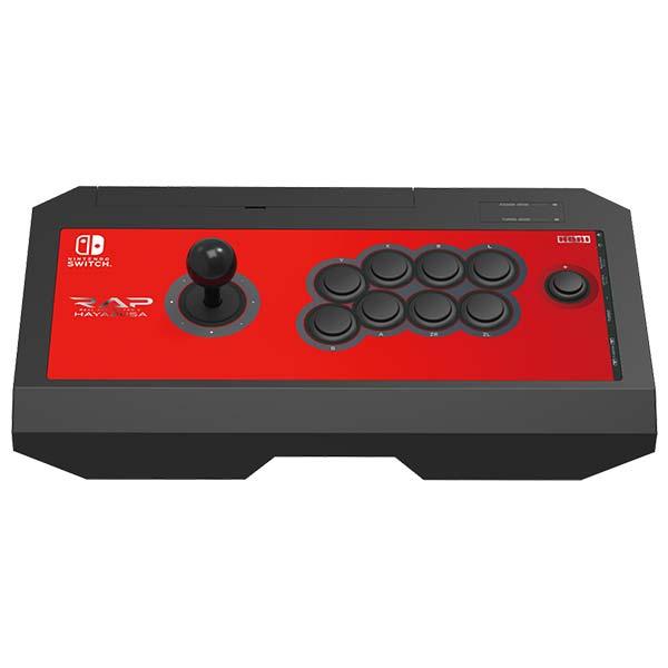 HORI Real Arcade Pro V Hayabusa pro konzole Nintendo Switch, červený