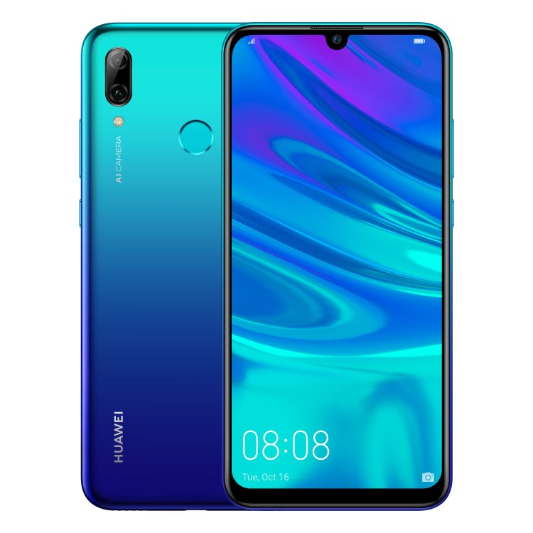 Huawei P Smart 2019, Dual SIM, Aurora Blue-CS distribuce