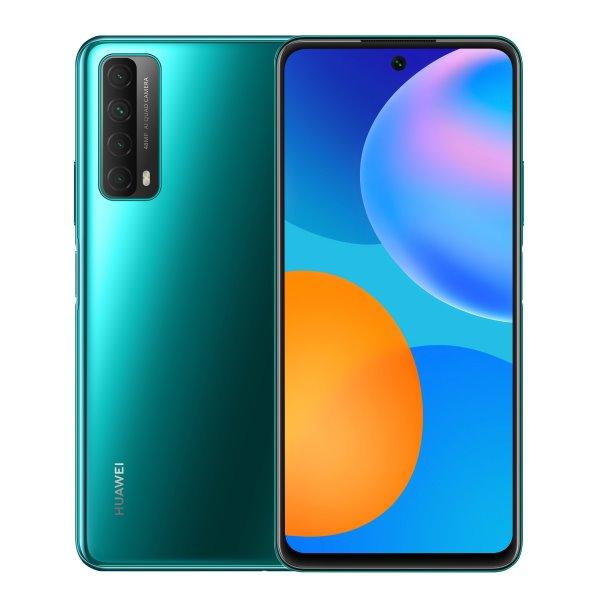 Huawei P Smart 2021, crush green-CS distribuce