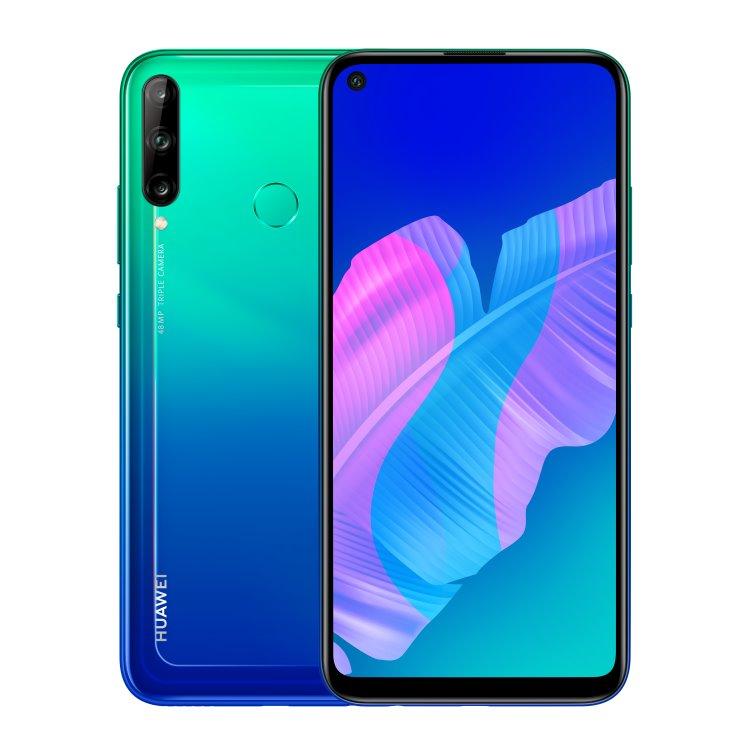 Huawei P40 Lite E, 4/64GB, Dual SIM, Aurora Blue-CS distribuce