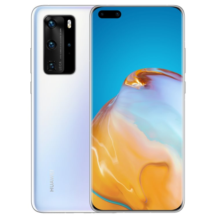 Huawei P40 Pro 5G, 8/256GB, Dual SIM, Ice White-CS distribuce