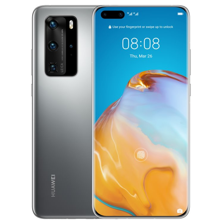 Huawei P40 Pro 5G, 8/256GB, Dual SIM, Silver Frost-CS distribuce
