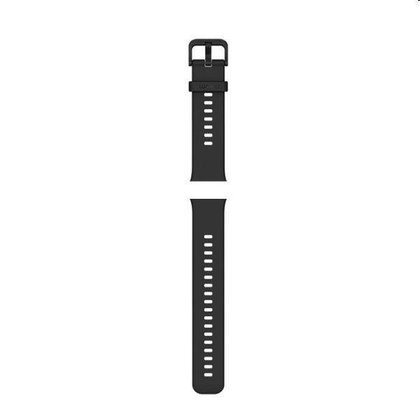 Huawei Watch Fit náhradný silikónový remienok, black