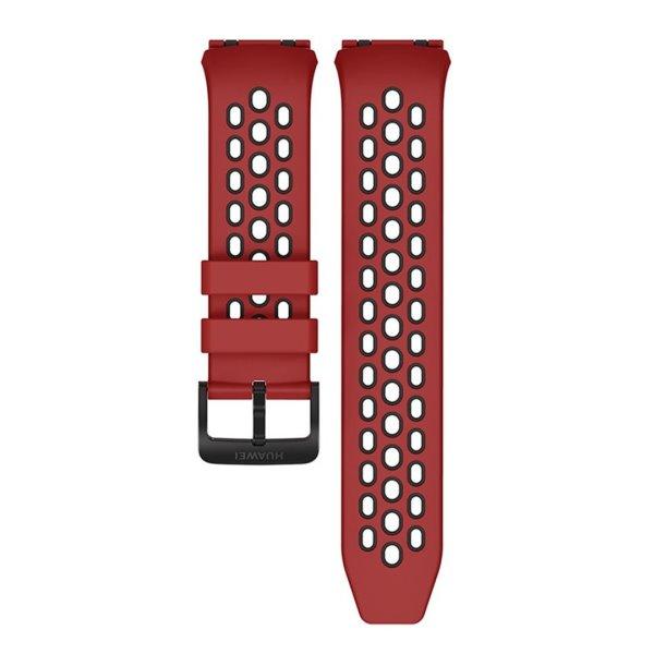 Huawei Watch GT2e náhradní řemínek 22mm, red & black