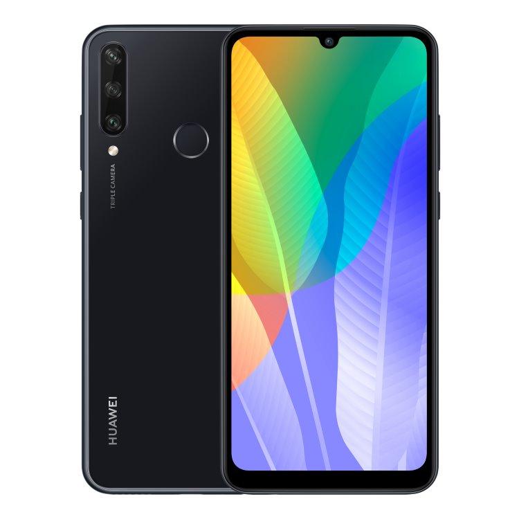Huawei Y6p, Dual SIM, Midnight Black-CS distribuce