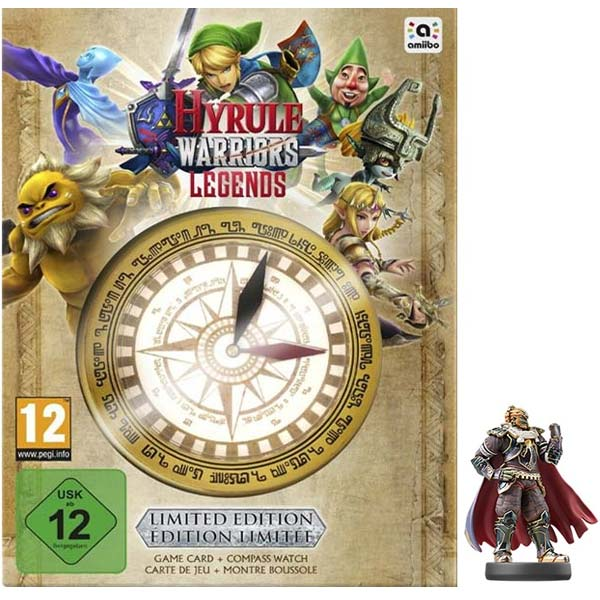 Hyrule Warriors: Legends (Limited Edition) + amiibo 3DS