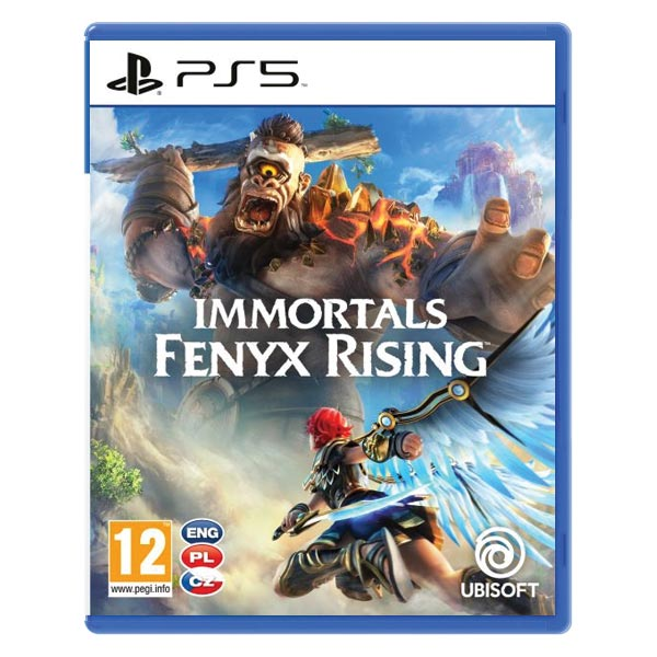Immortals: Fenyx Rising CZ [PS5] - BAZÁR (použitý tovar)