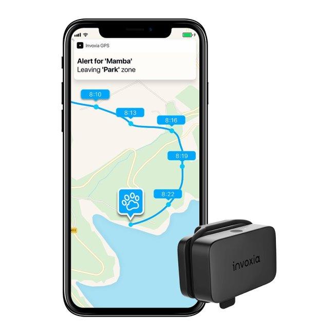 Invoxia GPS Pet Tracker-lokátor pro psy a jiná domácí zvířata