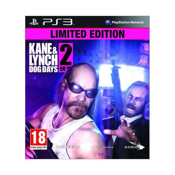 Kane & Lynch 2: Dog Days (Limited Edition) PS3