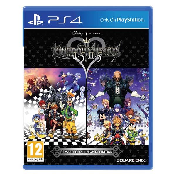 Kingdom Hearts HD 1.5 + 2.5 remixoval PS4