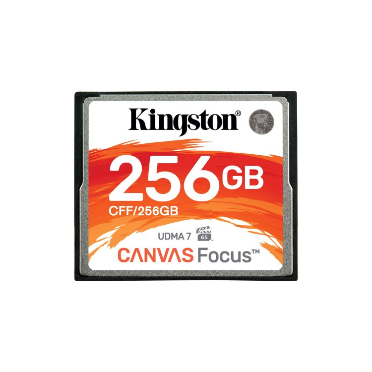 Kingston Compact Flash Canvas Focus 256GB-rychlost 150/130 MB/s (CFF/256GB)