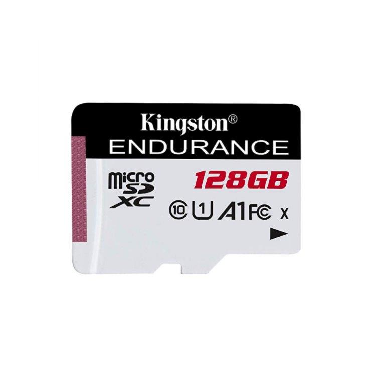 Kingston High Endurance Micro SDXC 128GB, UHS-I U1, Class 10-rychlost 95 MB/s (SDCE/128GB)