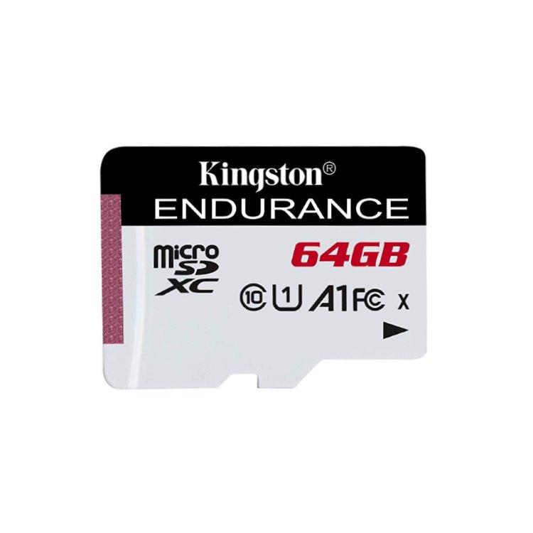 Kingston High Endurance Micro SDXC 64GB, UHS-I U1, Class 10 - rýchlosť 95 MB/s
