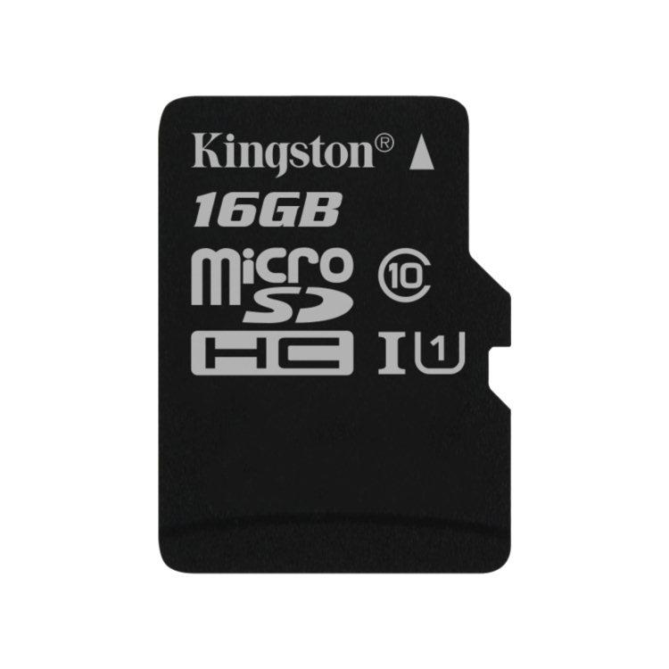 Kingston Micro SDHC Card 16GB | Class 10