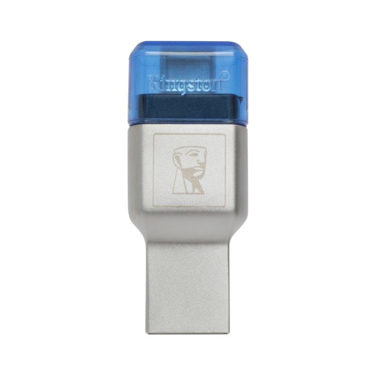 Kingston MobileLite Duo 3C USB 3.1 + USB-C externí čtečka paměťových karet