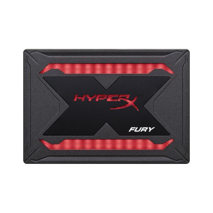 """Kingston SSD HyperX Fury SHFR RGB, 960GB, SATA III 2.5""""-rychlost 550/480 MB/s (SHFR200/960g)"""