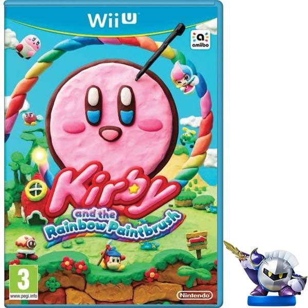 Kirby and the Rainbow Paintbrush + amiibo Meta Knight Wii U