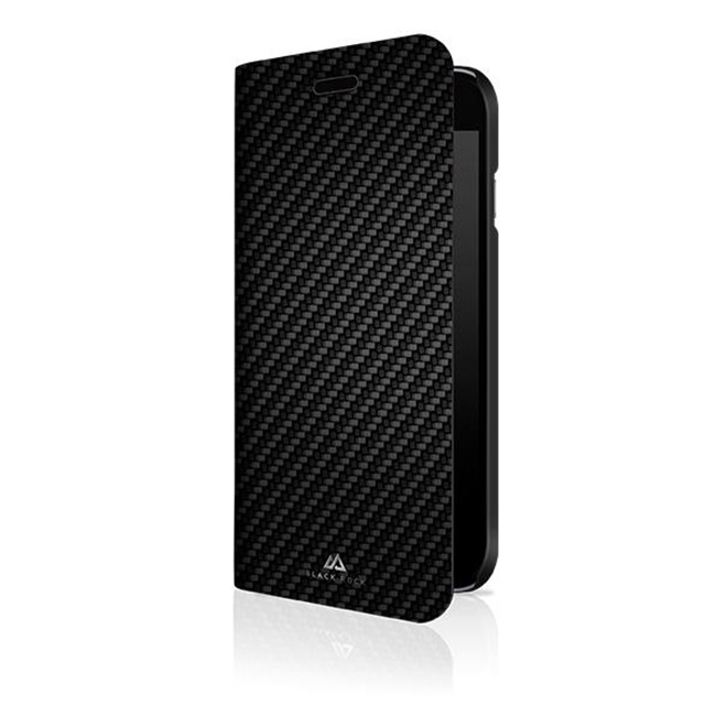 Knížková pouzdro Black Rock Flex Carbon pro Samsung Galaxy A51, Black