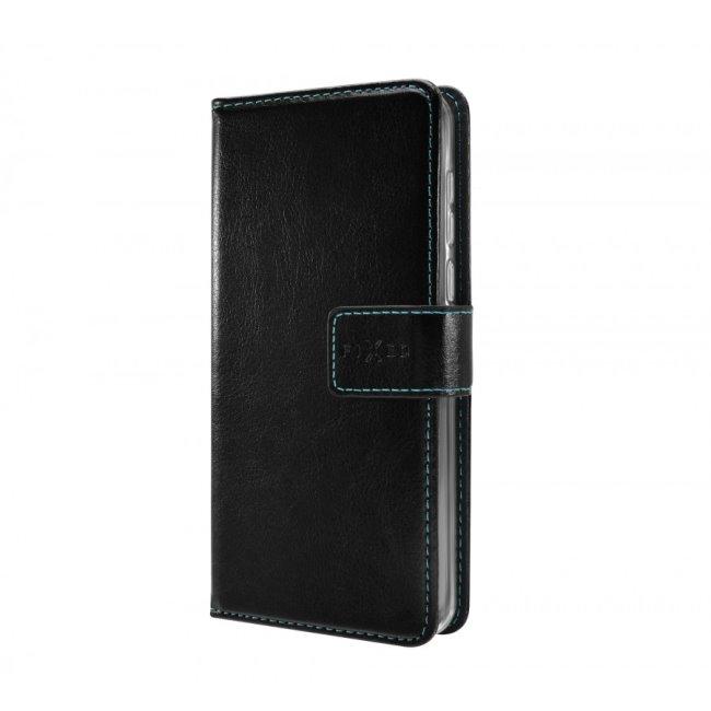 Knížková pouzdro Fixed Opus pro Samsung Galaxy M21, černé