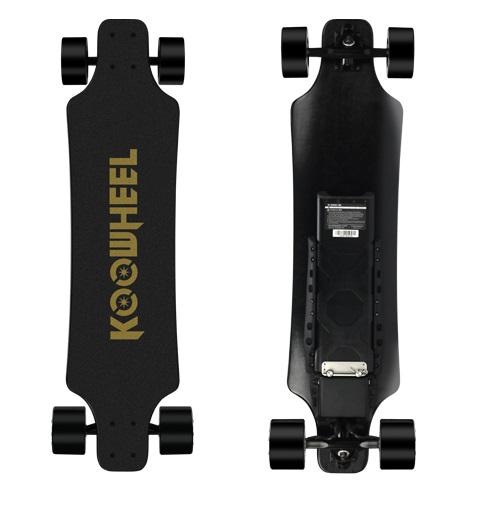 Koowheel Kooboard D3M v2 elektrický skateboard s 2x 4300mah bateriemi
