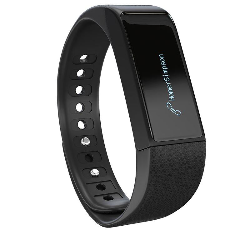 LAmax BFit-fitness náramek + 1x černý řemínek + 1x barevný řemínek-Rozbalené zboží