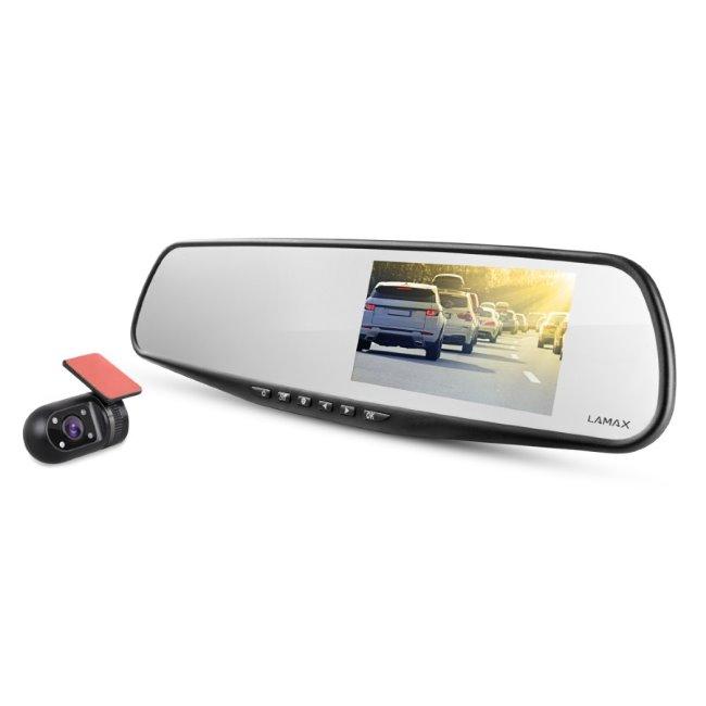 LAmax S7 Dual-Duální auto kamera