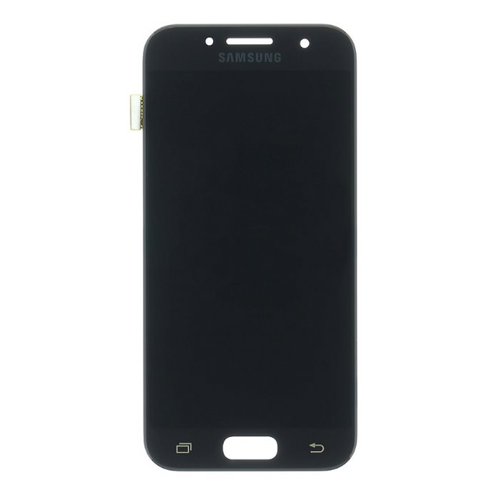 LCD displej + dotyková plocha pro Samsung Galaxy A3 2017-A320F, Black