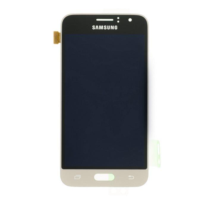 LCD displej + dotyková plocha pro Samsung Galaxy J1 (2016)-J120F, Gold