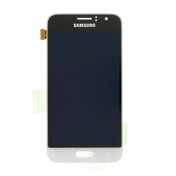 LCD displej + dotyková plocha pro Samsung Galaxy J1 (2016)-J120F, White