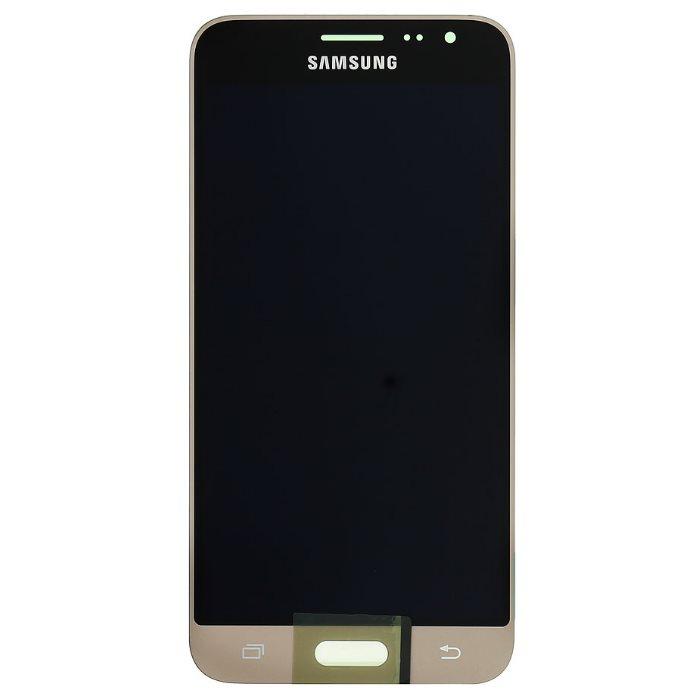 LCD displej + dotyková plocha pro Samsung Galaxy J3 (2016)-J320F, Gold