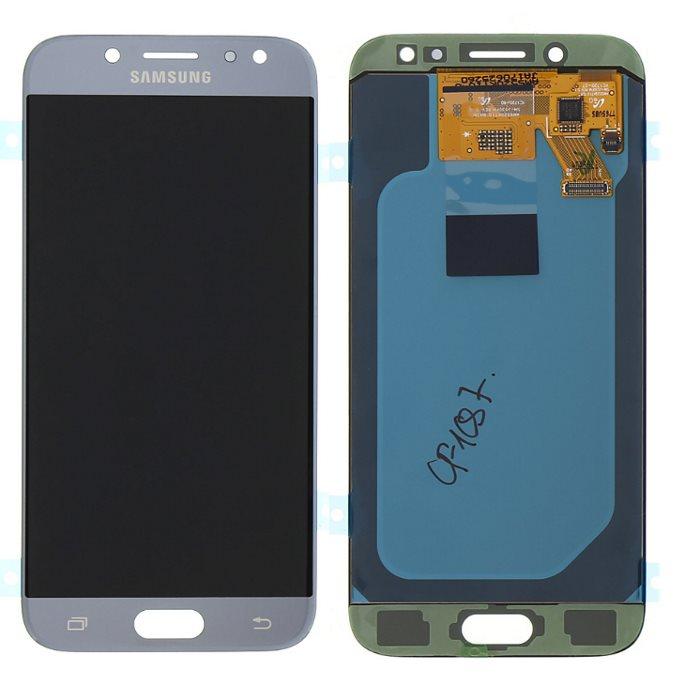 LCD displej + dotyková plocha pro Samsung Galaxy J5 2017-J530F, Silver