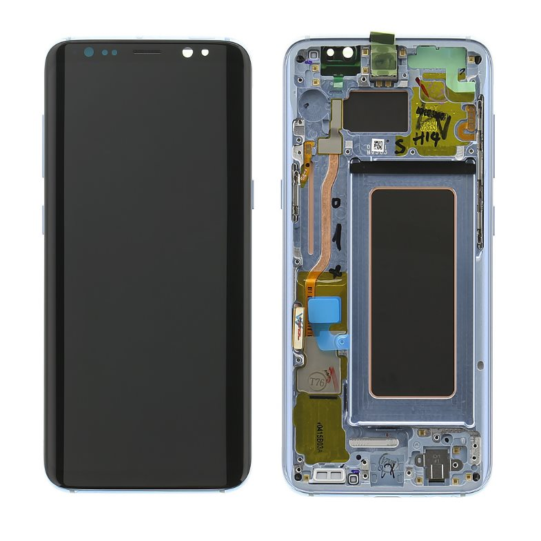 LCD displej + dotyková plocha pro Samsung Galaxy S8-G950F, colar Blue